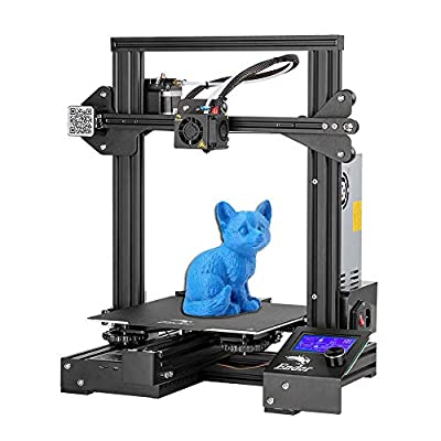 Creality Ender 3 Pro 3D Printer with Removable Build Surface Plate Resume Power Failure Printing DIY KIT and UL Certified Power Supply 220x220x250mm¡