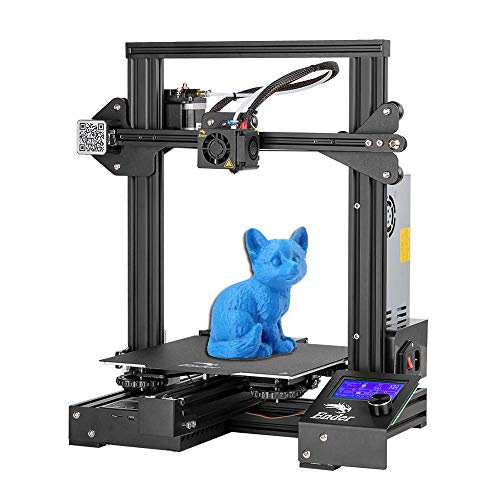 Creality Ender 3 Pro 3D Printer with Removable Build Surface Plate Resume Power Failure Printing DIY KIT and UL Certified Power Supply 220x220x250mm