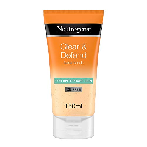 Neutrogena Clear and Defend Facial Scrub, 150 ml