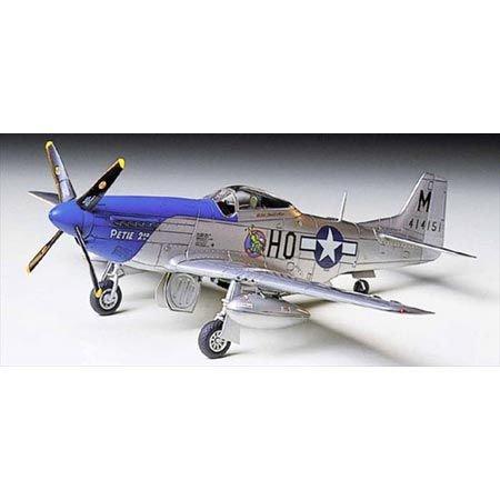 Tamiya 60749 - Modellino Aereo P-51D Mustang, Scala 1:72