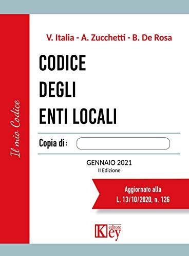 Amazon Com Br Ebooks Kindle Codice Degli Enti Locali Italian Edition Italia Vittorio Zucchetti Alberto De Rosa Brunello