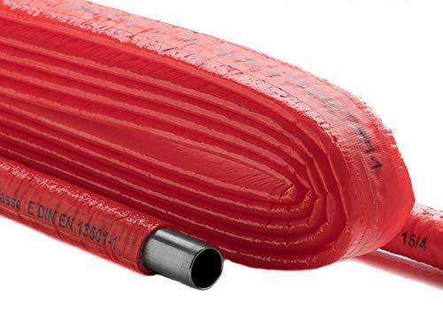 Schutzschlauch PE Kaltwasserleitung 10 m Isolierschlauch 4 mm Dämmung | Climaflex (Schutzschlauch Kaltwasserleitung, 12/15 (Ø 20mm ±2) x 4mm Dämmdicke| 10m)