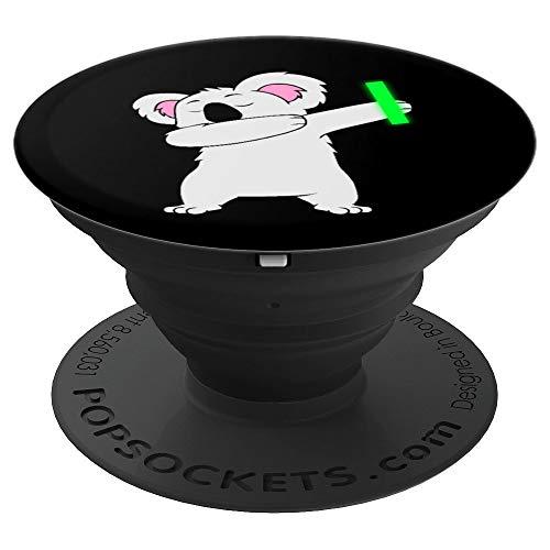 Dabbing Koala Bear Rave Dance Party Music Australia Gift - PopSockets Ausziehbarer Sockel & Griff für Smartphones & Tablets