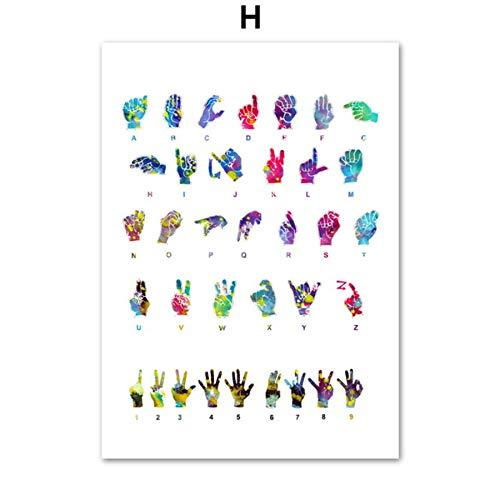 XWArtpic Anatomia Arte Cuore Umano Polmoni Polmoni Arte murale Pittura su Tela Poster e Stampe nordici Immagini a Parete per Dottore Office Decor H 30 * 40cm
