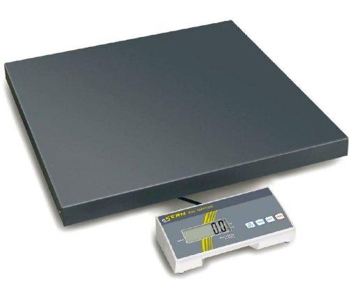 Bilancia a piattaforma Allround [Kern EOE 150K50X L] con top rapporto qualità/prezzo, Portate [Max]: 150kg, Divisione [d]: 50G, Piatto di pesata: LxPxA 945X 505X 65mm (in metallo laccato)