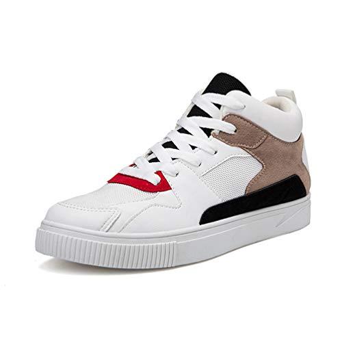 Qianliuk Männer Sneakers Schuhe Casual Leder Outdoor Winter Männer FrauenSport Stiefel