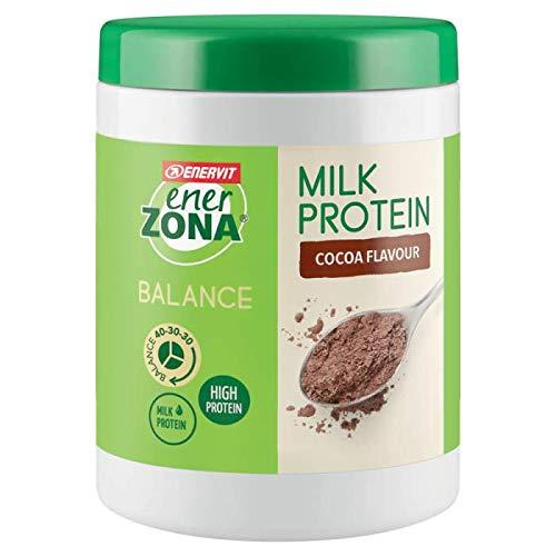 Enerzona Milk Protein Barattolo 230g Gusto cacao