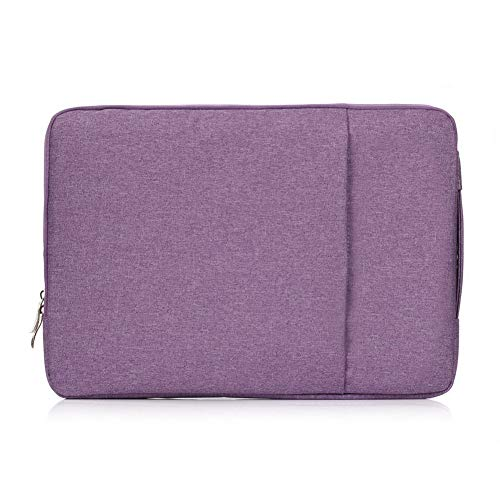 Wayamiaow Nylon Laptop Case Apple Mac Pro Air Pro Retina 13.3 15.4 Touch Screen Beschermhoes voor Macbook 11 12 13 15 inch (kleur: Paars, Maat : Voor Macbook 13 inch)