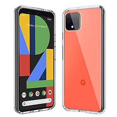 PULEN for Google Pixel 4 XL Case,HD Clear Soft TPU & Flexible Case Ultra Thin Anti-Scratch Anti-Slip for Google Pixel 4XL - Crystal Clear by PULEN