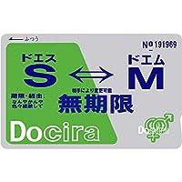 爆笑 目隠しシールシリーズ 「Docira S⇔M」 おもしろ 雑貨 ネタ 目立ちアイテム Suica ICカードステッカー 定期券 個人情報保護 シール ステッカー (ドS⇔どM)