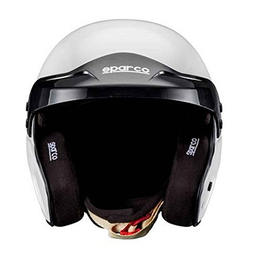 Sparco 0033535XL Helm Pro Rj-3 Fia Tg. Xl, Schwarz