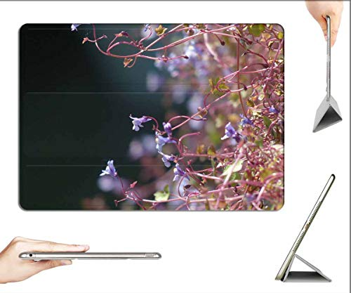Case for iPad Mini 5 & Mini 4 - Dulcimer Herb Blossom Bloom Blue Violet Purple