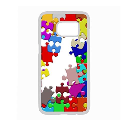 Onbekend bij de Samsung Galaxy S8 Plus Amazonas bedrukte puzzel Art hard plastic koffer voor kinderen, Choose Design 98-4
