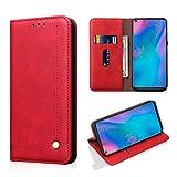 Beaulife Étui portefeuille en cuir PU pour Huawei P30 Pro Style Business Style Flip Case...