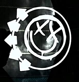 blink 182 window decal
