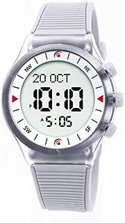 الفجر ساعة رياضية رجال رقمي بلاستيك مطاطي