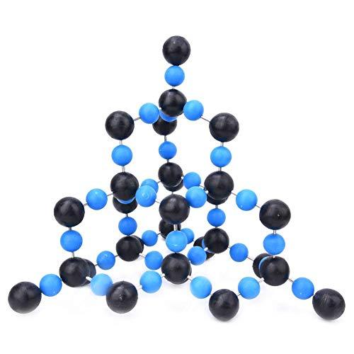 Kit de modelo de química orgánica, herramienta de modelo de estructura molecular de dióxido de silicio SiO2 para equipo de química de ayuda didáctica