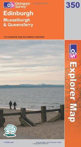 OS Explorer map 350 : Edinburgh