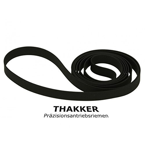 Thakker PL-J 210 Correa Compatible con Pioneer PL-J 210 Correa Tocadiscos Belt
