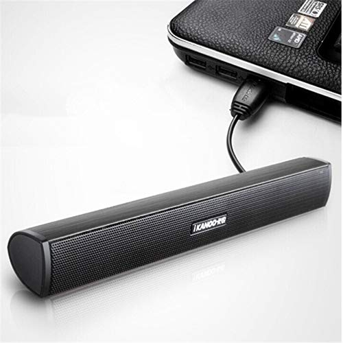 Lowest Prices! Portable Notebook Computer/Computer/PC Speaker USB Sound bar Sound bar Music Player T...