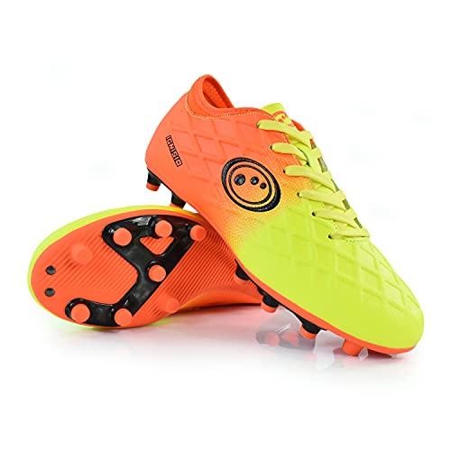 Optimum IGNISIO LACE-UP Football Boot, Aztec Orange, 6