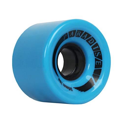 Paradise Skateboard Cruiser Wheels 59mm 78a Blue Old School Filmer