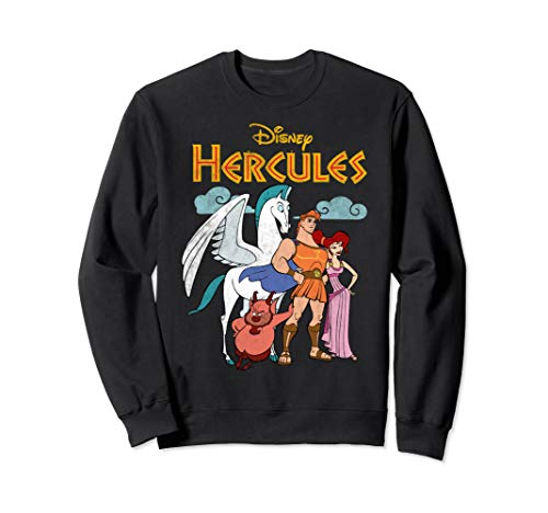 Disney Hercules Classic Group Shot Vintage Sweatshirt