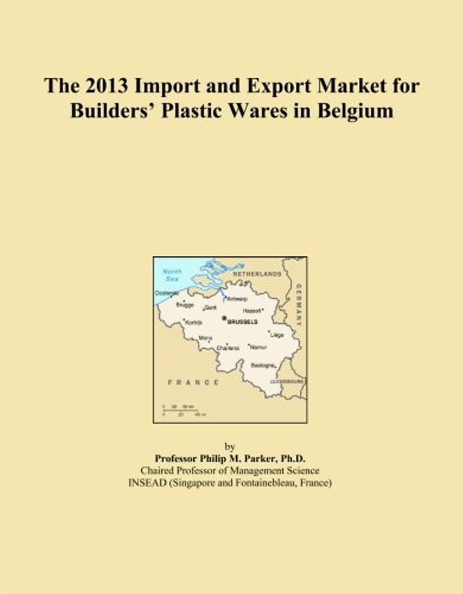 ドラッグ水没大学院The 2013 Import and Export Market for Builders' Plastic Wares in Belgium