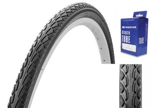 Classic Cycle Reifen für Trekking oder City Bike 28 x 1.50 mit Schlauch, E-Bike Zulassung