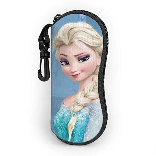 Hdadwy Brillenetui, Elsa Portable Travel Zipper Sonnenbrillenetuis Lesebrille Bag Guard Set