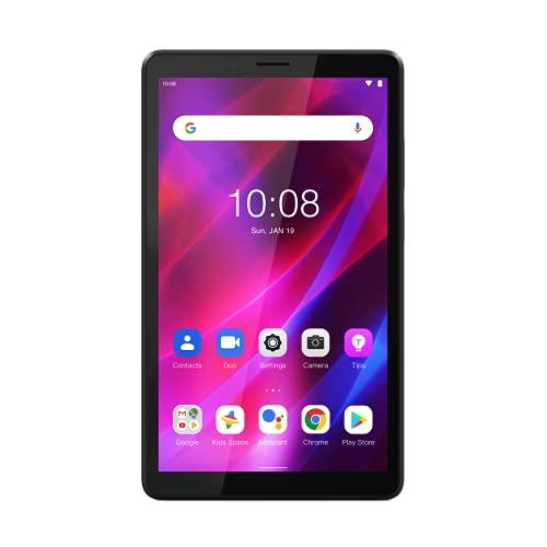 """Lenovo Tab M7 (3rd Gen) - Tablet de 7"""", HD (MediaTek MT8166, 2 GB de RAM, Almacenamiento de 32 GB eMCP4x, Android 11 (R) (Go Edition), WiFi + Bluetooth 5.0) - Gris"""