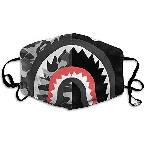 Staubdichte Masken, geeignet zum Laufen und Radfahren im Freien, Bape-Logo-Wallpaper