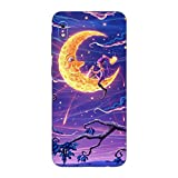 Head Case Designs Officially Licensed Christos Karapanos Carving The Crescent Dark Hours Matte Vinyl Sticker Skin Decal Cover Compatible with Samsung Galaxy A10 (2019)