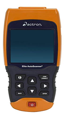 Actron CP9690 Elite AutoScanner Kit Enhanced OBD I and OBD II Scan Tool for all 1996 and newer and select 1984-95 vehicles, CHROME