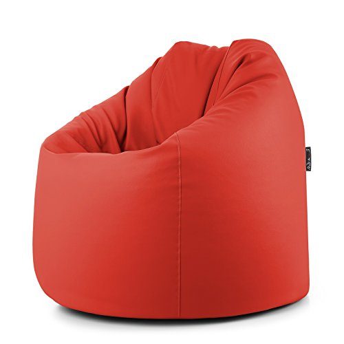 Pouf de salon similicuir déhoussable