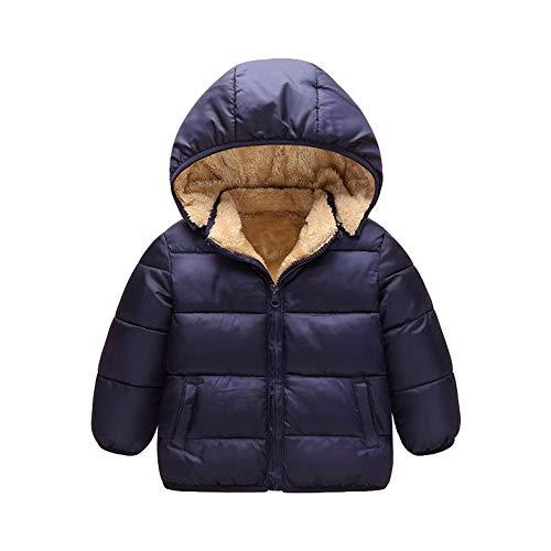 spremiagrumi elettrico egan Taigood Ragazzi Invernale Giubbotto Piumino Caldo Removibile Bambino Cappotto con Cappuccio Ragazze Jacket 2-8 Anni