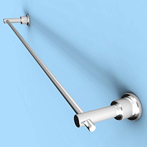 OOFWY Serviette de Salle de Bain Accessoires Serviette Rack INOX Contemporain Bar monté sur Mur en Acier Inoxydable 304 500 * 75 * 30 mm (20 * 3 * 1 Pouce), 500mm