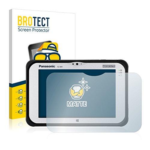 BROTECT 2X Entspiegelungs-Schutzfolie kompatibel mit Panasonic Toughpad FZ-M1 Bildschirmschutz-Folie Matt, Anti-Reflex, Anti-Fingerprint