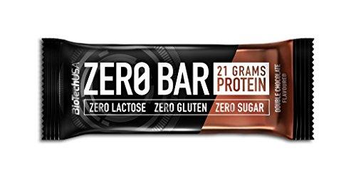 BioTechUSA Zero 20 Barre, Cioccolato Caramello - 1000 g