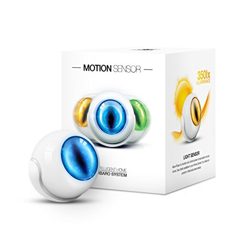 Fibaro FGMS-001 Sensor de Movimiento, Color Blanco