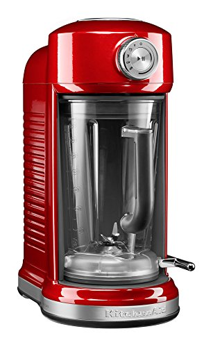 KitchenAid 5KSB5080 Batidora de vaso 1.8L 1500W Rojo - Licuadora (1,8 L, 700 RPM, 20000 RPM, Batidora de vaso, Rojo, Acero inoxidable)