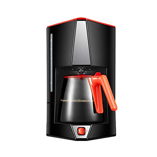 TGhosts Coffee Machine, Personal Espresso Maker, Household Automatic Drip Large Capacity Coffee Pot, Can Brew Tea, Keep Warm Auto-Off Function