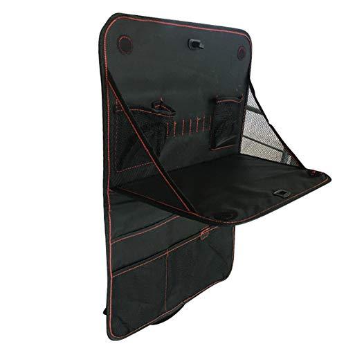 United Entertainment - auto achterbank organizer met klaptafel - 30x38 cm - zwart