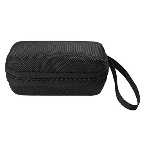 Hemobllo 1 bolsa de armazenamento para fone de ouvido MP3/MP4 Media Player, estojo de transporte resistente ao desgaste antiqueda bolsa portátil organizador de bolso preto para Gear IconX