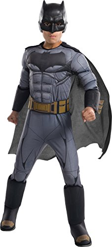 DC Comics - Disfraz de Batman Premium para niño, infantil 5-7 años (Rubie's 640170-M)