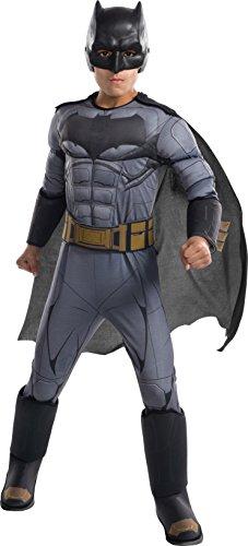 DC Comics - Disfraz de Batman Premium para niño, infantil 5-7 años (Rubie