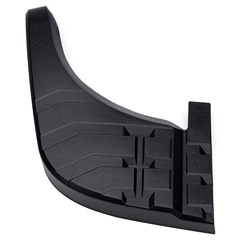 Bumper Step Pad Extension 52164-0C040 Compatible with Toyota Tundra 2007-2013 Rear Bumper Upper Step Pad 521640C040 Left Driver Side Rear Bumper Step Pad Black TO1197100