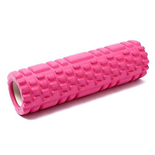 ケイ・ララ フォームローラー 筋膜リリース [ピンク] グリッドフォームローラー ヨガローラー ヨガポール マッサージローラー
