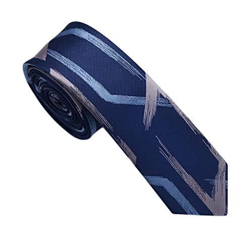 La versión Coreana de la versión Coreana del Vestido de los Hombres de Corbata La Corbata Casual Profesional de los Estudiantes de Negocios de los Hombres (Color : H)