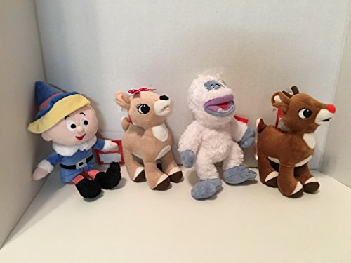 Rudolph The Red-Nosed Reindeer, Clarice, Abominable Snowman Bundle of 4
